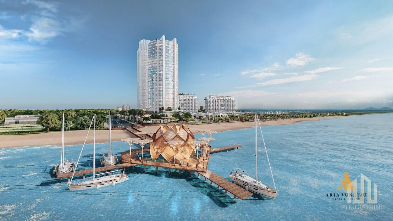 Cầu tình yêu Aria Vũng Tàu Hotel & Resort