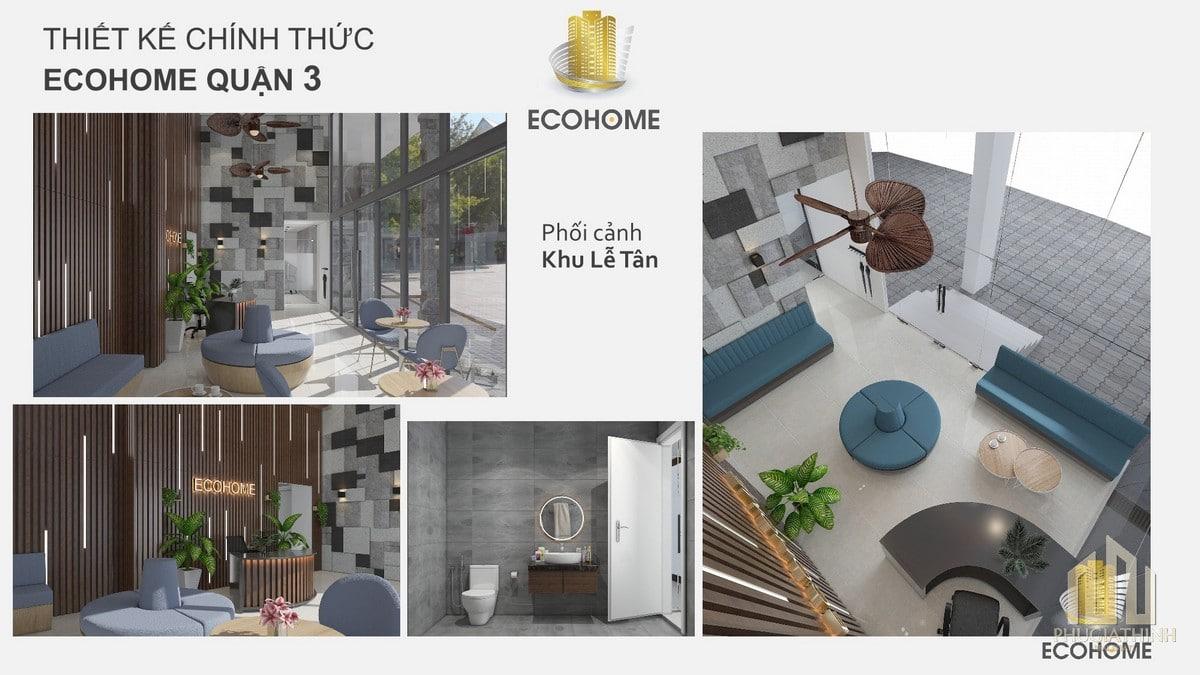 Tiện ích nội khu căn hộ Ecohome CMT8