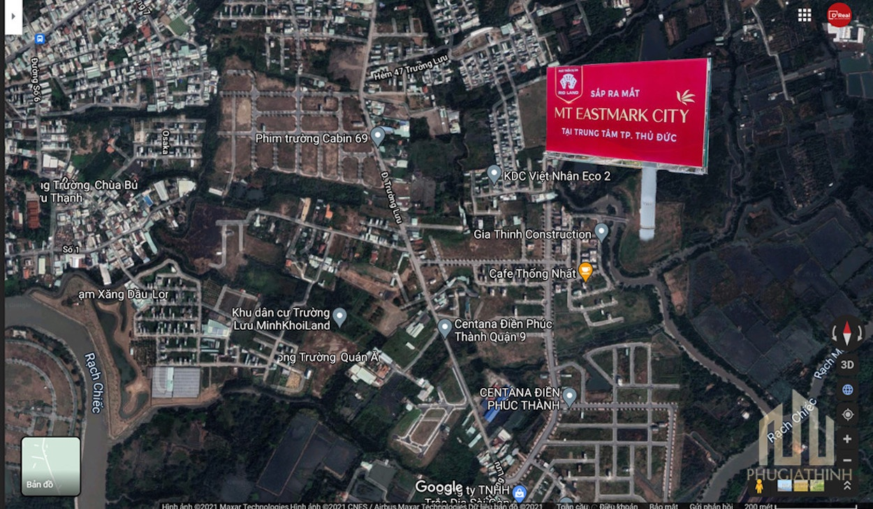 Vị trí MT EastMark City Quận 9 | Phú Gia Thịnh