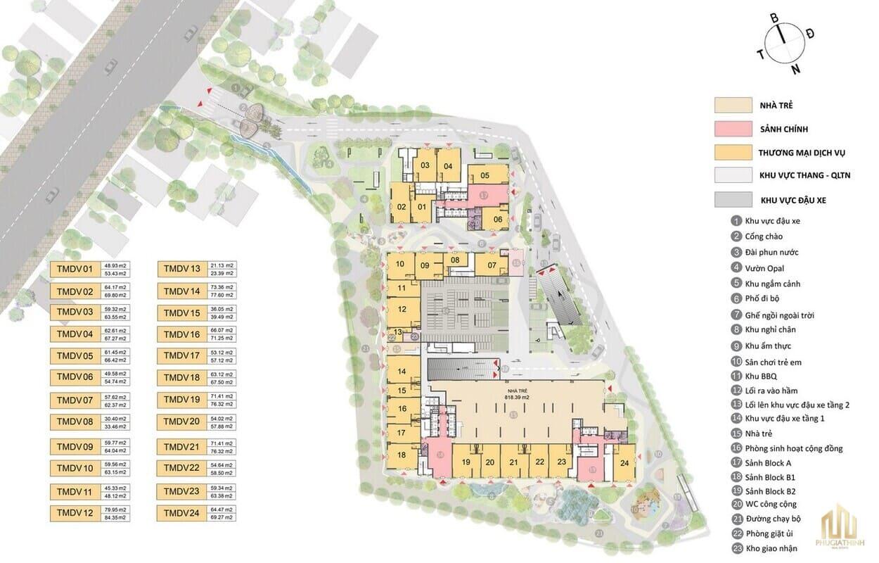 Thiết kế dự án Opal Cityview Bình Dương có gì đặc sắc?