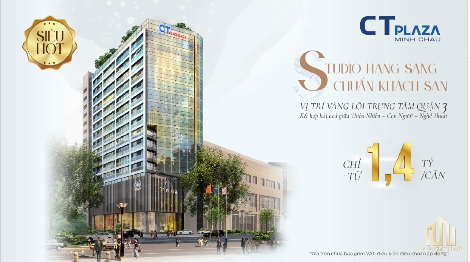 Giá bán CT Plaza Minh Châu Quận 3