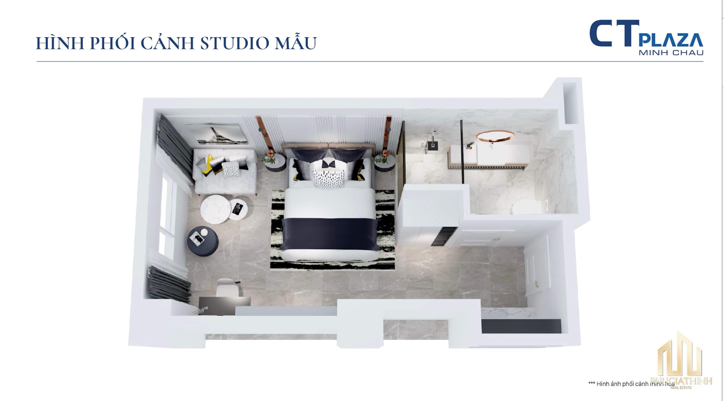 thiết kế dự án ct plaza minh châu quận 3