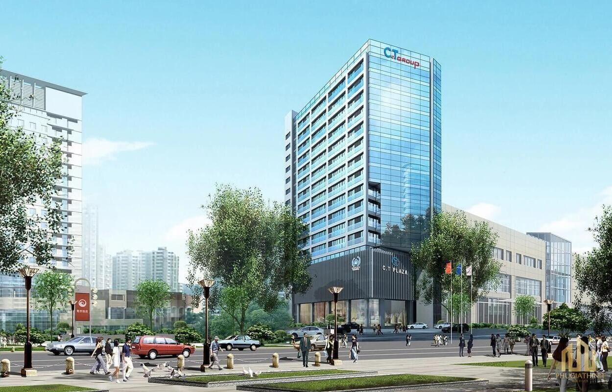 Phối cảnh CT Plaza Minh Châu